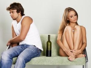 Jak przejawia się zespół Otella u alkoholika?