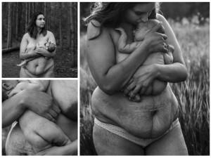 Jedni patrzą z obrzydzeniem, inni widzą w nim siłę macierzyństwa. Tak bez retuszu wygląda ciało kobiety po 4 ciążach
