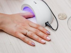 lampa do manicure hybrydowego
