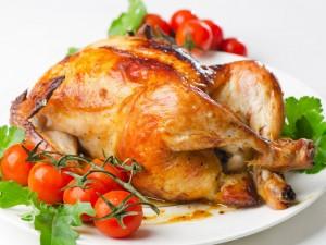 Kurczak faszerowany warzywami