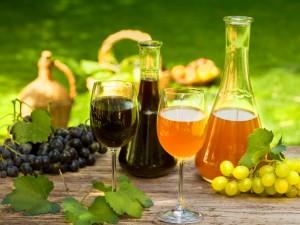 nalewka z jasnych i ciemnych winogron
