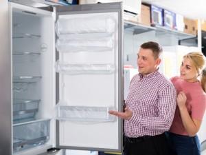 Para wybierająca lodówkę