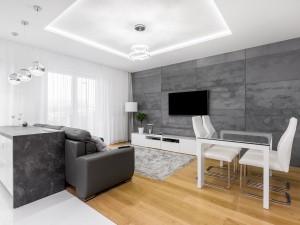 Modny i efektowny: czy warto mieć w domu sufit podwieszany?