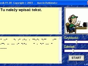 Morsik 1.0 - nietypowy tłumacz