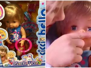 Na rynku zabawek pojawiła się lalka… chora na odrę. Lekarze i rodzice są oburzeni