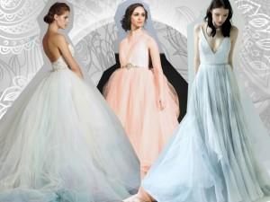 Oto nowy trend w modzie ślubnej! Kolorowe kreacje podbijają serca panien młodych na całym świecie!