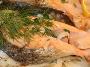 Peptydy z łososia obniżają ciśnienie tętnicze krwi