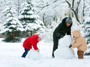 Pierwsza aktywna zima z dzieckiem