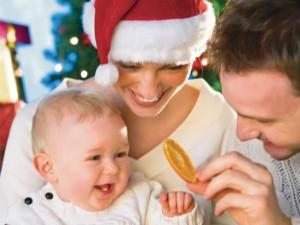 Pierwsze święta z dzieckiem