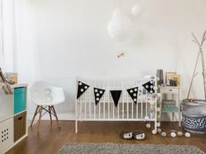 Pokój dla przedszkolaka w stylu skandynawskim