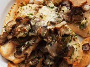 Polędwiczki wieprzowe z grzybami
