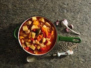 zupa jarzynowa z wieprzowiną