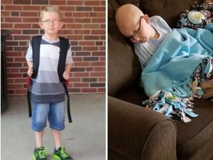 Prawdziwe oblicze dzieciństwa z rakiem. Matka opublikowała wstrząsające zdjęcie chorego syna i list, który wyciska łzy…