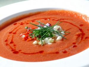 Rozgrzewający krem pomidorowy