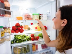 Rozmieszczenie żywności w lodówce