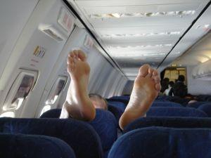 Savoir-vivre w samolocie