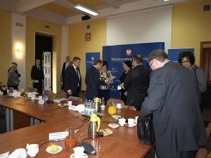 Spotkanie pielęgniarek z premierem