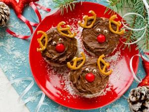 Sprawdź, jak wykonać kruche ciasteczka, które wyglądem przypominają renifery Świętego Mikołaja!