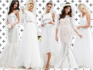Suknie ślubne z sieciówki? A jednak! I co najlepsze, są bardzo ładne!