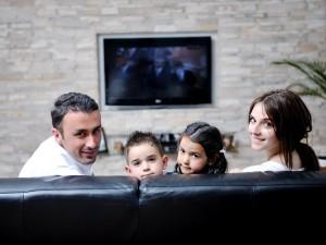 Telewizor członkiem rodziny?