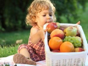 Warzywa i owoce dla malucha