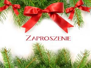 Zaproszenia Bożonarodzeniowe Uroczystości Rodzinne Polkipl