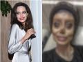 19-latka chciała wyglądać jak Angelina Jolie, upodobniła się do... zombie