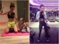Dominika Grosicka wrzuca zdjęcia brzucha, pojawia się na okładkach pism i... robi konkurencję Annie Lewandowskiej?