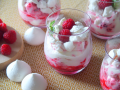 Szybki deser z malinami - Kasia gotuje z Polki.pl