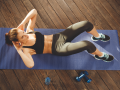 Tabata to skuteczny sposób na odstający brzuch i wałeczki. Wystarczą 4 minuty ćwiczeń!