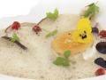 Zupa z prawdziwków z kozim serem z Kieźlin