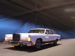 1979 Lincoln Continental Town Car - Samochód do ślubu