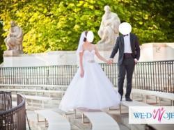 2 suknie ślubne w 1