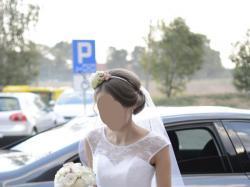 32 34 (36) Biała suknia ślubna - wyjątkowa Margarett Finezja XXS XS (S)