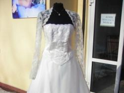 40-42 rozmiar!!! suknia ślubna