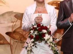 _Piękna Suknia Ślubna Firmy Agnes___36/38 tylko 550zł
