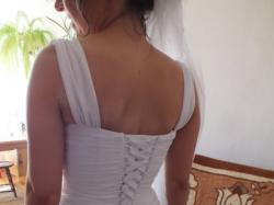 !!_Suknia ślubna w stylu greckim, rozmiar 34/36