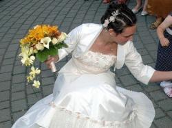 Agnes - Czarująca suknia ślubna!