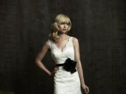ALLURE Bridals 8825 - biała SUKNIA ślubna + dodatki