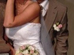 Amadea śliczna suknia ślubna