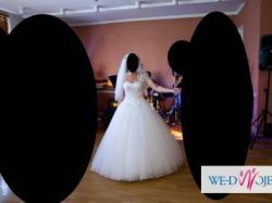 Amerykańska suknia ślubna Sinceirty 3656 biała r.38