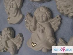 Aniołki podziękowania dla gości weselnych, na chrzciny, urodziny, itp