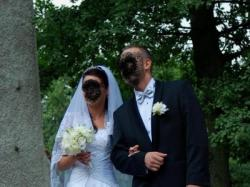 ANNAIS BRIDAL cudowna biała suknia ślubna ERICA MARIE roz. 34-36
