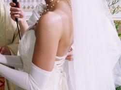 Atrakcyjna suknia slubna