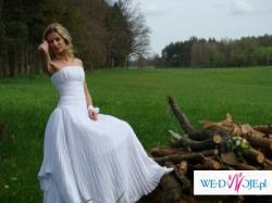 atrakcyjna suknia ślubna z salonu Agnes model 1756