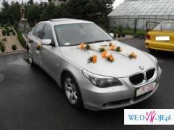 AUTO DO ŚLUBU LUKSUSOWE BMW 5