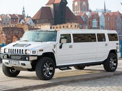 Auto do ślubu VIPS STARS limuzyny HUMMER H2 Trójmiast Gdańsk