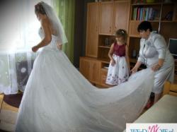 Bajeczna biała suknia DEMETRIOS 984