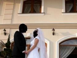 BAJECZNA, biała suknia ślubna,model SARA,rozmiar 38/40