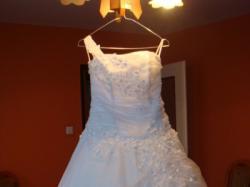 Bajeczna suknia ślubna.